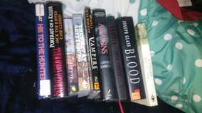 10 book collection in Fort Campbell, Kentucky