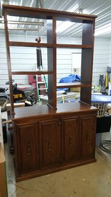 Solid Oak cabinet 4ft. wide x 7ft. tall in Columbia, South Carolina