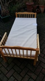 REDUCED Pine Toddler Bed in Lakenheath, UK