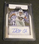 Dallas Cowboys RC Autogrpha TACO CHARLTON in El Paso, Texas