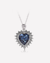 Crystal Love Heart Crystal Necklace in Barstow, California