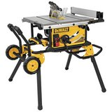 "DeWalt 10"" Job Site Table Saw, 32 1/2"" Rip, New in Box, Rolling Stand in Kingwood, Texas"