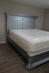 Classic Silver Bed in Spring, Texas