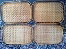 Vintage: Bamboo Serving Trays in Macon, Georgia