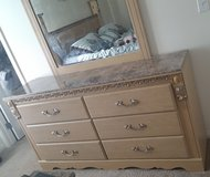 Dresser with mirror in Fort Irwin, California