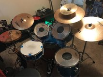 5 piece PDP drum set in Fort Bliss, Texas