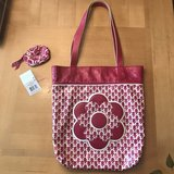 Vera Bradley Twirly Birds Pink A+ Tote & coin purse in Perry, Georgia