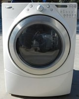 FRONT LOAD WHIRLPOOL DUET GAS DRYER WITH WARRANTY (FINANCING) in Camp Pendleton, California