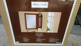 allen roth bathroom cabinet with mirror in Orland Park, Illinois