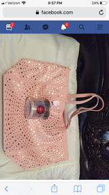 Bath and body works bag and candle in Lawton, Oklahoma