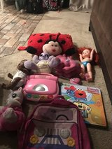 Computer, backpack, baby alive, pillow pet etc in Fairfield, California