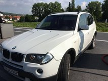 2008 BMW Xdrive diesel X3 German Spec in Wiesbaden, GE