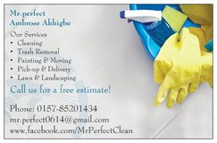 Lawn & Landscaping | PCS Cleaning | Junk Removal | Moving Service in Ramstein, Germany