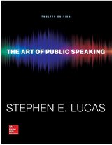 The Art of Public Speaking 12th Edition in Camp Pendleton, California