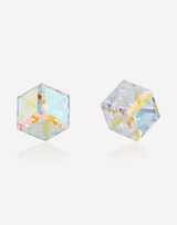 Crystal Prism Cube Earrings in Barstow, California