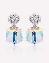 Two Cubes Crystal Earrings in Barstow, California