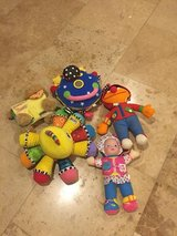 Lot of soft baby toys in Morris, Illinois