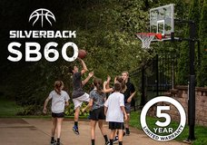 Silverback In-Ground Basketball System with a 60 inch Backboard in Tinley Park, Illinois