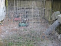 Wired Fencing A Total of 52 Feet 7 Inches Used for Garden in Camp Lejeune, North Carolina