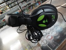 Xbox 360 Turtle Beach x12 Headset in Camp Lejeune, North Carolina