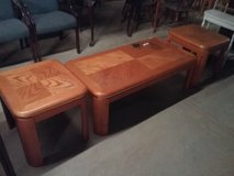 Coffee/End table 3 pcs. in DeRidder, Louisiana