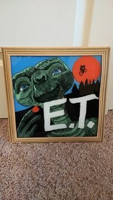 E.T. Glass painting in Perry, Georgia