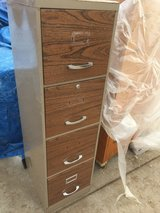 """4 drawer filing cabinet 15x18"""" 52"""" tall in Fort Riley, Kansas"""