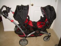 CONTOURS - OPTION TANDEM STROLLER by KOLCRAFT, RUBY in Warner Robins, Georgia