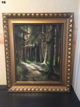 Beautiful Forest Scene Painting in Spangdahlem, Germany
