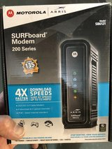 Modem Motorola arris model SB6121 in Oswego, Illinois