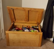 Solid wood toy box in Bolling AFB, DC