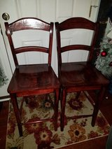 Dark Cherry / 2 Piece Bar Stool Set in Fort Campbell, Kentucky