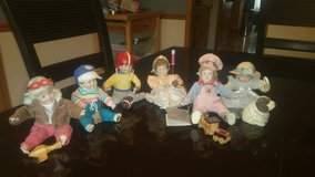 Danbury mint collector dolls in Westmont, Illinois
