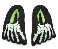 Brand New boys glow in dark skeleton slippers sz.2-3 in Camp Lejeune, North Carolina