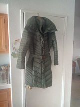 Marc Jacobs jacket rated for 20 degrees in Lake Elsinore, California