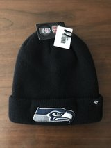 ***** SEATTLE SEAHAWKS Cuffed with Embroidered Logo Beanie Hat (47' Logo Brand) ***** (NEW) in Fort Lewis, Washington