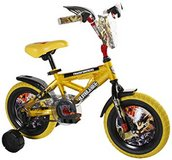Transformers Bumblee Bike 12-Inch Wheels by Dynacraft with helmet in Bolingbrook, Illinois