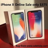 Apple iPhone X 64GB Silver-New-Original,Unlocked Phone in Fort Hood, Texas