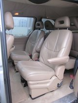 3 Rear Seats in Beige Leather for 1996 Voyager in Ramstein, Germany