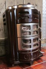 Small Antique Wood or Coal Burning Stove in Ramstein, Germany