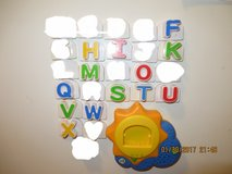 Leap Frog Fridge Phonics Sun Base Replacement Letters in Aurora, Illinois
