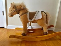 articulated movements with sound Plush Rocking Horse in Aurora, Illinois