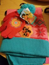 Elena scarf, hat and glove set in Fort Leonard Wood, Missouri