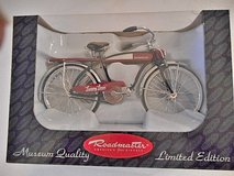 Roadmaster Bicycle 1:6 Scale Diecast Museum Quality Toy Replica Limited Edition in Temecula, California
