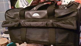 SAMSONITE cat/dog carrier! LEATHER! in Ramstein, Germany