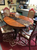 Very old table 4chairs  new seat covers in Conroe, Texas
