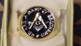 CHRISTMAS SALE  MENS  MASONIC RING...AF & AM    SIZE 9 , 10 , 11 12 in Fort Leonard Wood, Missouri
