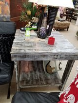 Rustic Handmade Square Wood Table in Camp Lejeune, North Carolina