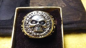 CHRISTMAS SALE !!!  MENS  BIKER RINGS ,  WILLIE G SKULL DESIGN , SIZE  9 .10.11. 12 in Fort Leonard Wood, Missouri