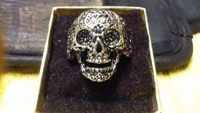 CHRISTMAS SALE !!!   MEN;S BIKER RINGS  SKULL DESIGN , SIZE 9.10.11.12 in Fort Leonard Wood, Missouri